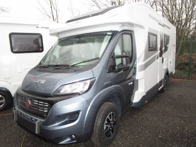 Roller Team T Line 743 4 Berth Island Fixed Rear Bed Automatic Motorhome For Sale