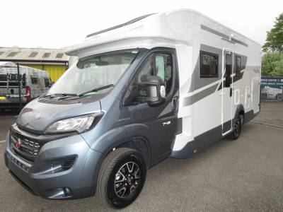 Roller Team T Line 743 4 Berth Island Fixed Rear Bed Motorhome For Sale