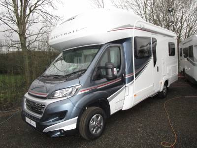 Auto Trail Tribute T715 Fixed Rear Bed 6 Berth Motorhome For Sale.