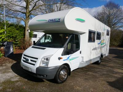 Chausson Welcome 28 6 berth Rear Fixed Bed motorhome for sale