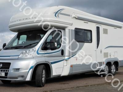Autotrail Frontier Chieftain - Fixed rear bed, Large garage, Solar panel, Satellite system