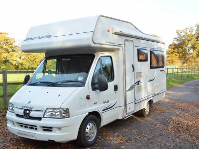 4 Berth 2006 Compass Avantgarde 140 Motorhome for Sale