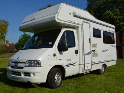 2006 4 Berth Compass Avantgarde 140 Motorhome for Sale