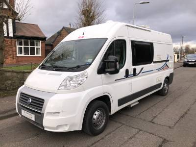 Adria Twin 600 SP Fixed Rear Bed Van Conversion For Sale