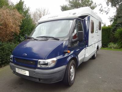 Reduced 2006 Hymer 2 berth 4 seat left hand drive motorhome for sale