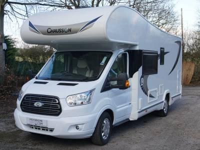 Chausson Flash C636 6/7 berth Rear Fixed Bunk bed motorhome for sale