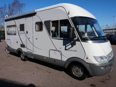 Hymer Starline 655 A-Class (auto merc) 6 berth Rear fixed bed motorhome for sale