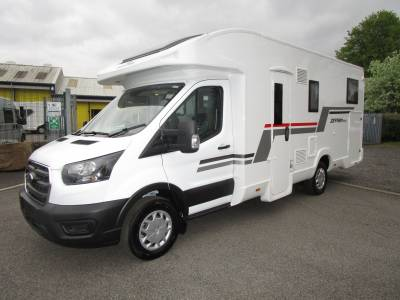 Roller Team Zefiro 685 4  Berth Fixed Rear Single Double Bed Motorhome For Sale