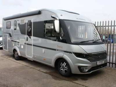 Adria Sonic Supreme 710 SL Automatic Luxury Rear Single Double bed Motorhome For Sale