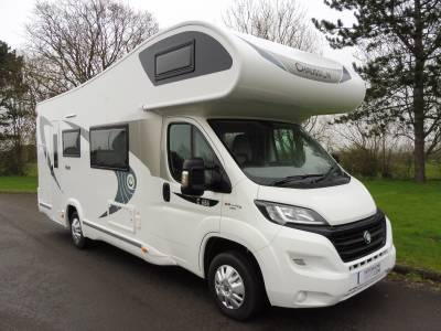 Chausson Flash C656 7 berth 7 belts motorhome for sale