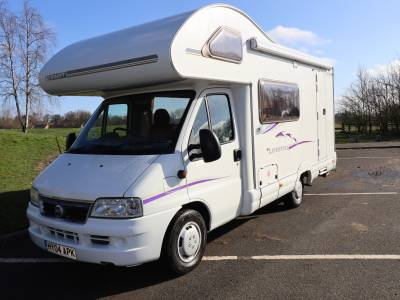Swift 590RS 5 Berth 4 Travelling Seats Motorhome For Sale