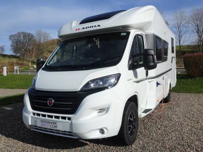 Dec 2018 Adria Coral Plus 670SL - Garage - wide entry door - L-Shaped Lounge - immaculate - only 5100 miles!