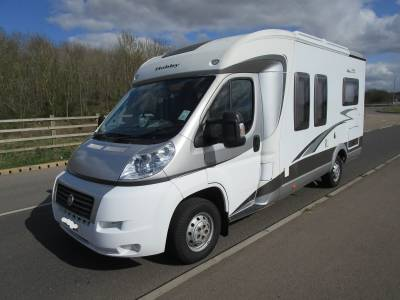 HOBBY TOSKANA 600FL 2008 4 BERTH MOTORHOME WITH FIXED FRENCH BED FOR SALE