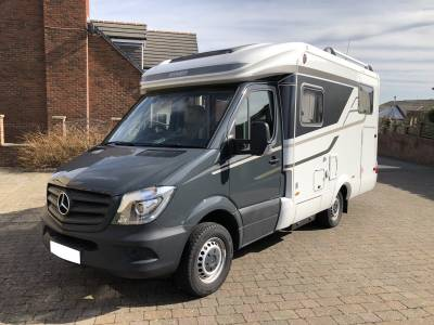 Hymer MLT 540 Mercedes Automatic 3 Birth Fixed Bed Motorhome For Sale