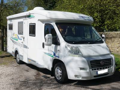 Chausson Welcome 75 low price fixed bed garage Motorhome for sale