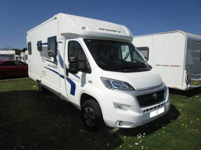 Swift Escape 664 4 Berth Fixed Bed Low Profile Motorhome For Sale