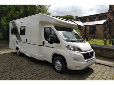 Sunliving S 75 SL Automatic 6 Bert Rear Fixed Bed Motorhome For Sale