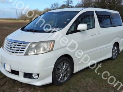 Toyota Alphard - Automatic, Solar panel, Awning, Rock n roll bed