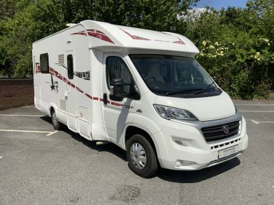 Rimor 69P Silver Line Fixed Island Bed Motorhome with Low Miles For Sale