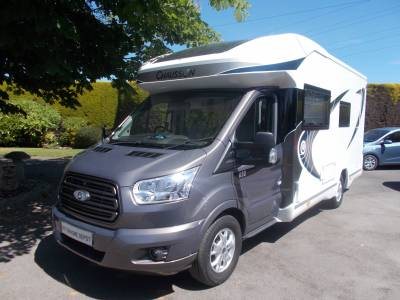 Chausson Welcome 630 4 Berth Motorhome 2017