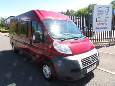 Adria Twin 600 SP 2008 3 Berth Rear Fixed Bed Campervan Motorhome For Sale