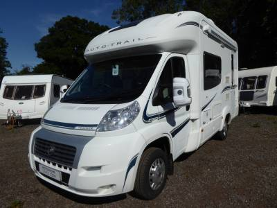 Auto-Trail Tracker EKS. 2012. Rear Kitchen. 2 Berth Motorhome