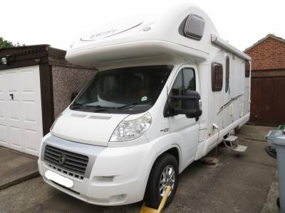 Swift Lifestyle 630g 2008 4 Berth 4 Belts Rear Fixed Bed For Sale