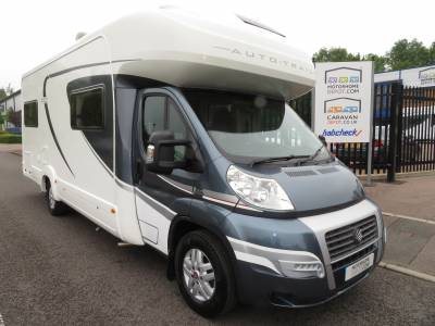 Autotrail Scout 2013 6 Berth Rear U Shape Lounge Motorhome For Sale