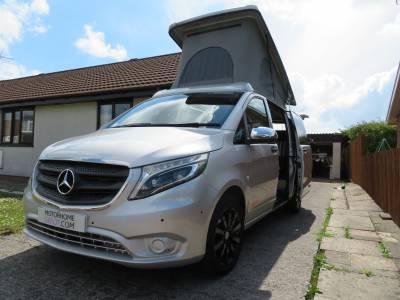 Mercedes Vito Devon Camper, 4 Berth, Pop Roof, Automatic