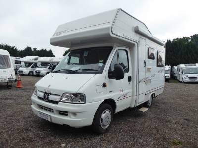 Elddis Autoquest 120.  2006. 4 Berth