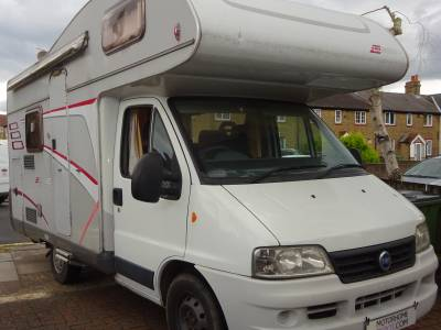 2007 Hymer Classic 4 berth 5 seat belts motorhome for sale