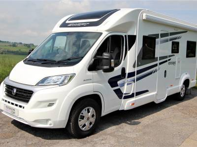 Swift Escape 685 6 Berth U Shaped Lounge Motorhome