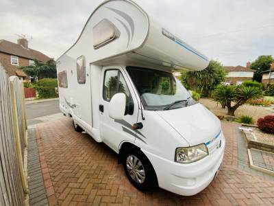 Swift Suntor 590 RL 4 Berth Rear Lounge Motorhome For Sale