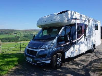 Autotrail Delaware HB Rear fixed Island Bed Motorhome for sale