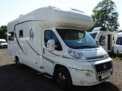 Auto-Trail Apache 634. 2014. Rear Lounge. 4 Berth. Automatic