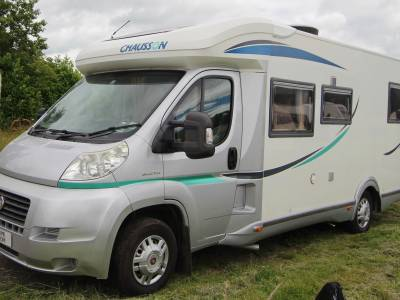 Chausson 78EB 3 Berth Island Bed Rear Garage Motorhome