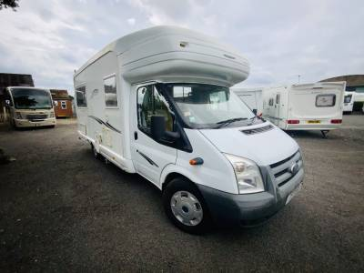 Autosleeper Hampshire 2 Berth Rear Lounge Twin Single Beds Motorhome For Sale