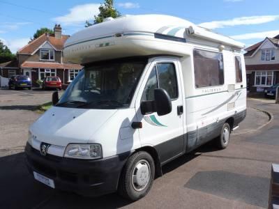 Autosleeper Talisman 4 berth rear kitchen motorhome for sale