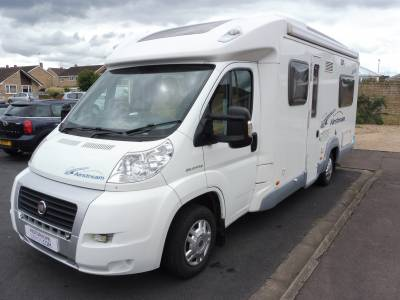 Ace Airstream 680FB 4 berth fixed bed motorhome for sale