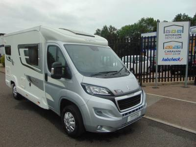 Elddis Majestic 125 2016 3 Berth Rear Fixed Bed Motorhome For Sale