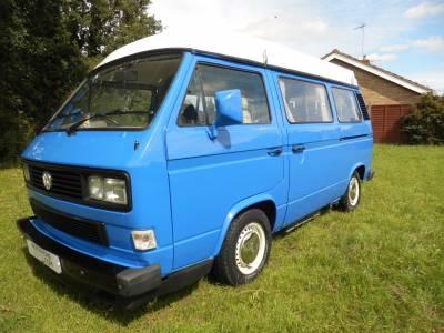 Volkswagen T25 pop top 4 berth