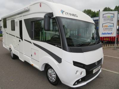 Itineo JB 700 Auto 5 Belts Large Garage Motorhome For Sale