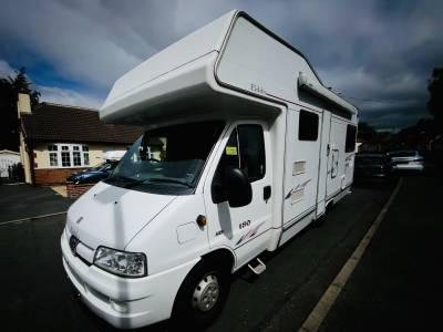 Elddis Autoquest Expedition 180 6 Berth Rear Lounge Motorhome For Sale