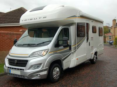 2017 Autotrail Tribute T - 720 family motorhome