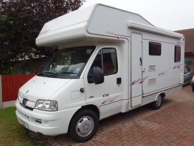 Elddis Autoquest 170 4 Berth 4 Belt Fixed Bed **DEPOSIT TAKEN**