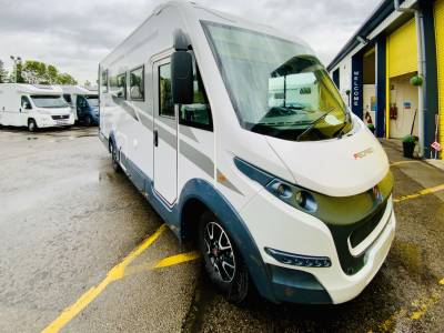 Roller Team Pegaso 740 Rear Island Fixed Bed Motorhome For Sale