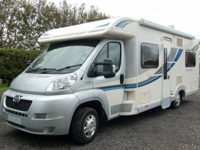 2014 Bailey Approach 740SE fixed bed low profile motorhome for sale