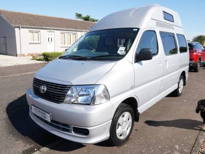 Toyota Hiace D4D 120, 4-berth, 4-seatbelts, Hi-top Campervan for Sale
