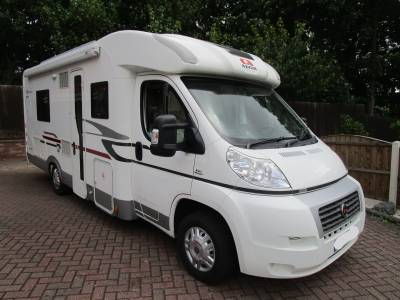 ADRIA CORAL S 680ST 4 BERTH FRENCH BED END WASHROOM LOW PROFILE MOTORHOME FOR SALE