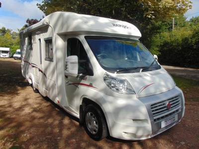 Rapido 7097F 4 Berth Fixed Rear Bed Over Garage Motorhome For Sale